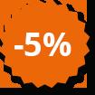 -5% auf das Online Sortiment