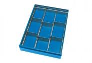 Schubladen-Einteilungs-Set für Tischwagen