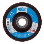 Lamellenschleifteller TYROLIT STANDARD Stahl/Inox
