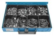 Schlauchschellen-Sortimentskasten 150-tlg