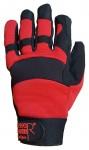 Arbeitshandschuh, Nylon/PVC, verstärkte Handfläche
