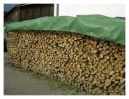Abdeckplane für Holz grün 1,5m x 6m