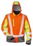Warnschutz-Softshelljacke ELYSEE, wind- und wasserdicht