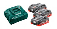 Akkupack Basic-Set METABO 18 V / 4,0 Ah