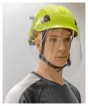 Helm-Gesichsschild-Set klappbar, mit Höhensicherungshelm