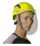 Helm-Gesichsschild-Set mit Höhensicherungshelm