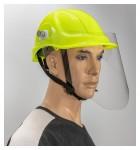 Helm-Gesichsschild-Set klappbar inkl. Sicherheitshelm