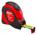 Rollmeter SOLA, ergonomisches Kunststoffgehäuse, Klasse I