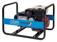 Stromerzeuger CGM, Benzin, 5,0 kVA, Ausgang 230 Volt