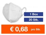 Atemschutzmaske FFP2 NR 20 Stk.