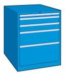 Schubladenschrank, 5 Laden, 564 x 572 x 850 (h) mm