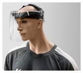Hygiene-Gesichtsschutzschild klappbar, verstellbar