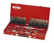 Gewindeschneid-Werkzeug-Satz RUKO M3-M20  HSS MF