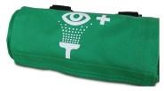 Gürteltasche leer, grün ACTIOMEDIC® für 250ml Augenspülflaschen
