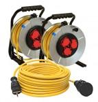 Kabelkomplettset IP 44 3-tlg