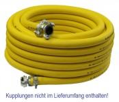Pressluftschlauch FM gelb 20bar