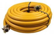 Pressluftschlauch-Garnitur orange 20 bar, 20 m
