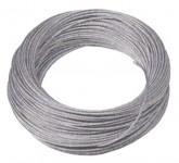 Stahldrahtseil MOSER mit Faserseele verzinkt