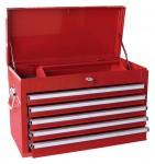 Werkzeugkasten MOSER 5 Laden, leer, rot