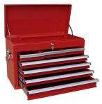 Werkzeugkasten MOSER 7 Laden, leer, rot