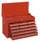 Werkzeugkasten MOSER 9 Laden, leer, rot