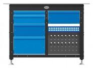 Workstation SIEGMUND 16-er System, 1.200 mm Breite, 5 Laden