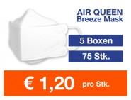 Atemschutzmaske Air Queen FFP2 NR 75 Stk.