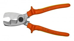 VDE-Kabelschere mit Doppelschneide KNIPEX