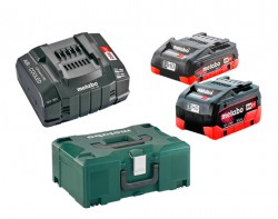 Akkupack Basic-Set METABO LiHD 4,0 / 5,5 Ah