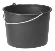 Baueimer PVC mit Nasenbügel 12 l