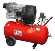 Kolben-Kompressor FINI 90 Liter, 590 l/min