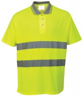 Warnschutz Polo-Shirt
