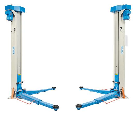 Hebebühne OMCN elektromechanisch, 4.000 kg Tragkraft