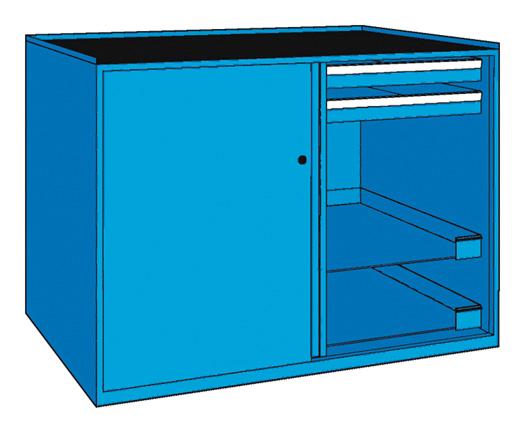 Werkzeugschrank CNC, 4 Laden, 4 Böden, 1.434 x 1.000 mm (BxH)