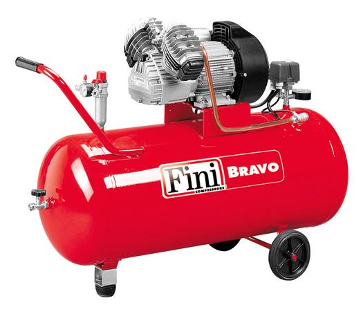 Kompressor FINI 90 Liter, 400 l/min