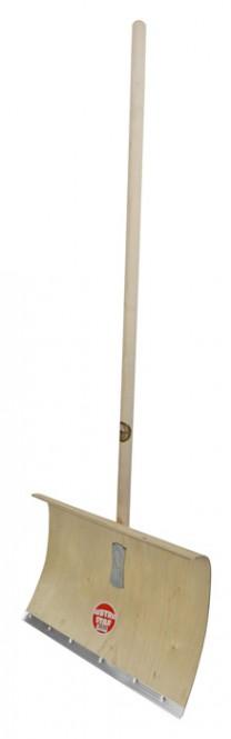 Schneeschieber OFFNER Holz, 50 cm Breite, mit Alukante