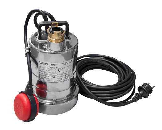 Tauchpumpe 3.000 - 24.000 l/h, Restwassermenge 2 mm