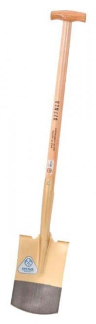 Spaten OFFNER, 18 cm Breite, mit Stiel