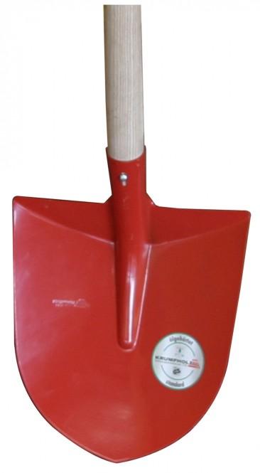 Sandschaufel MOSER 2,1 kg, mit Stiel
