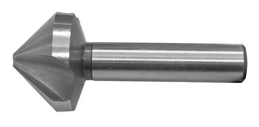 Holz//Metall HSS – 3 Schneider Senker 90° Durchmesser 6,3 mm