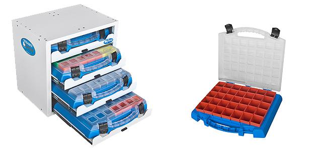 Schubladenkästen für Werkzeug, Schrauben und Zubehör
