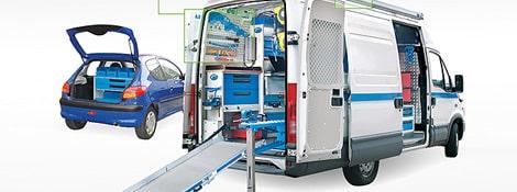 Fahrzeugeinrichtung – modular und preiswert